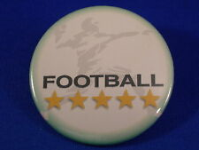 FOOTBALL Lot of 12 BUTTONS pin sport team badge pinback FUNDRAISER UNIQUE