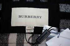 NWT Girls BURBERRY Classic Black Wool Coat Size 8