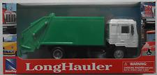 NewRay - MAN F2000 LKW Müllwagen weiß/grün 1:43 Neu/OVP