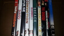DVD Wholesale Lot Count of 10 H
