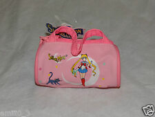"NEW WITH TAGS SAILOR MOON COIN PURSE SMALL DUFFLE BAG 2"" X 3"" PINK"