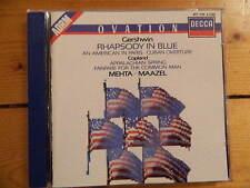 Gershwin  American in Paris / Rhapsody in Blue Lorin Maazel and Mehta DECCA