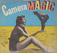 CAMERA MAGIC Optically Made From Original Black and White by Arthur Weegee RARE