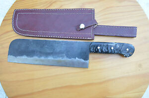 From the Eagle collection hand forged carbon steel hunting cleaver knife EGL31Z
