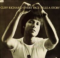 CLIFF RICHARD every face tells a story PIG-2268 usa mca 1977 LP PS EX/EX deletio