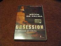 OBSESSION (1976) DVD FILM MOVIE - BRIAN DE PALMA -  SCONTO PAUL LITHGOW FIRENZE