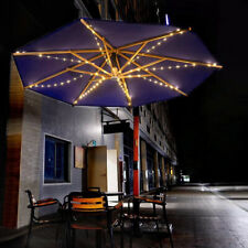 More details for led fairy string lights for umbrella patio parasol outdoor garden remote control