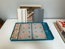Scrabble Travel Edition, Selchow & Righter, 1977, Wood Tiles