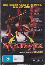 RAZORBACK - Gregory Harrison, Arkie Whiteley, Bill Kerr - DVD