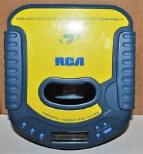 RCA RP-2025A PORTABLE CD PLAYER TESTED AND WORKING
