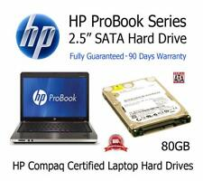 "80GB HP ProBook 4530s 2.5"" SATA Laptop Hard Disc Drive HDD Upgrade Replacement"