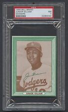 1958 Bell Brand Junior Gilliam PSA 7 NM L.A. Dodgers