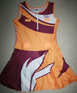 Netball Bodysuit Dress **Brand New** , Purple, Gold, White, Size 20, Rowville