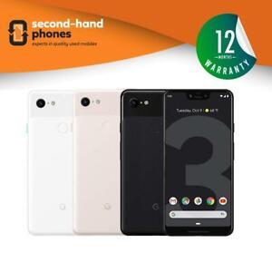 Google Pixel 3 XL - 64GB/128GB - Black/White/Pink (UNLOCKED/SIMFREE) Smartphone