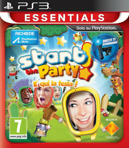 Essentials Start The Party PS3 PLAYSTATION 3 9210740 sony Computer Entertainment