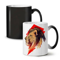 Tiger Head Face Animal NEW Colour Changing Tea Coffee Mug 11 oz | Wellcoda
