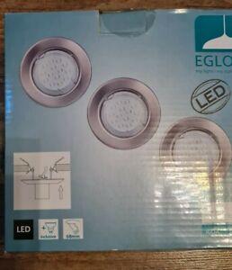 EGLO IGOA LED Einbaustrahler 3 Watt Einbauspot Deckenstrahler Einbauleuchte A+