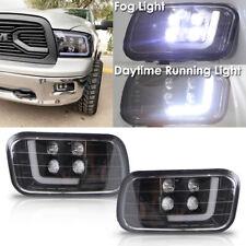 LED Fog Lights with DRL Fog Lamp Assembly for 2009-2012 Dodge RAM 1500 2500 3500