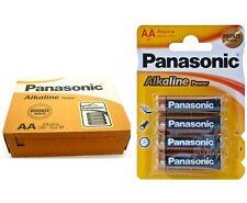 4 Pilas Panasonic 1,5V AA alkalinas power LR06 - Envio desde España