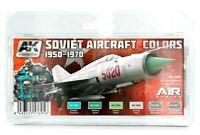 AK Interactive Soviet Aircraft Colours 1950-1970 Paint Set For Models