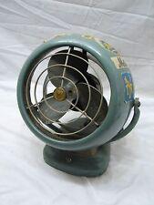 "Vintage Vornado 6"" Art Deco Mid Century Modern Desk Fan D16C2-1 53 Atomic"