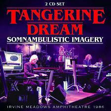 TANGERINE DREAM New Sealed 2019 LIVE 1986 CALIFORNIA CONCERT 2 CD SET