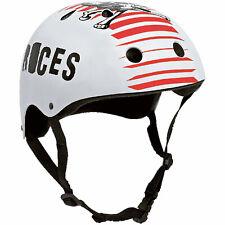 Roces Skull 800 Aggressive Helmet Skate half Shell Hard Case Inline Skating