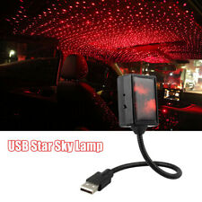 USB LED Car Roof Star Night Light Projector Red Atmosphere Lamp Starry Sky Home