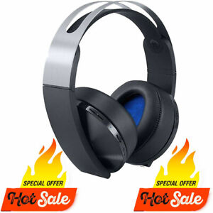 GENUINE SONY PS4 PLATINUM WIRELESS HEADSET[GAMING] PLATINUM HEADSET Only