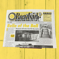 Roadside Newsletter Newspaper Magazine Fall 1992 & Winter 1992/1993 Diner Lunch