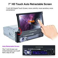 GPS Navigation Single 1 DIN Car Stereo MP3 Player Bluetooth Radio MP5 USB FM/AM