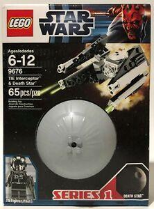 LEGO Star Wars 9676 TIE Interceptor & Death Star COMPLETE & SEALED - 1120D