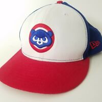 Chicago Cubs New Era 7 1/4 Fitted Hat Cooperstown Collection