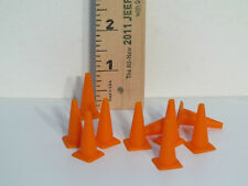 H&R RACING PRODUCTS HR701 SOFT MOLDED ORANGE SAFETY CONES  10 PER PACKAGE  1/32
