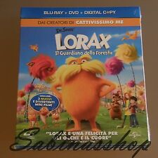 CARTOON DVD+BLU-RAY+DIGITAL COPY★LORAX IL GUARDIANO DELLE FORESTE★NUOVO!!