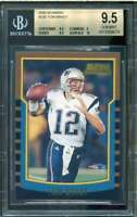 Tom Brady Rookie Card 2000 Bowman #236 BGS 9.5 (9.5 9 9.5 10)