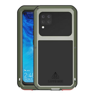 LOVE MEI Powerful Case Aluminum Metal Armor Shockproof Cover For Huawei P40 Lite