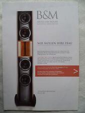 BACKES & MÜLLER PROSPEKT 2010,BM LINE 25 MK 2,35, 50