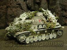 """""""RETIRED"""" Build-a-Rama 1:32 Hand Painted WWII Ambush Foliage Winter"""