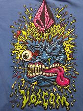 Used Jimbo Phillips Punk Skateboard Rock Skater Surf Small T Shirt Art 2-sided