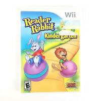 Reader Rabbit Kindergarten (Nintendo Wii, 2011) Complete Learning Game