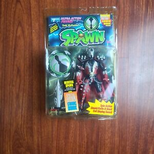 1994 McFarlane Medieval Spawn Series 1 Action Figure Plus Edition Comic Book
