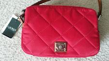 Ralph Lauren(RLL)Cross Body Two zipper Small Pink Bag