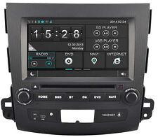 Autoradio GPS DVD tactile Citroën C-Crosser Peugeot 4007 Mitsubishi Outlander