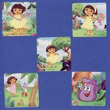 10 Dora the Explorer's Adventure - Large Stickers - Party Favors