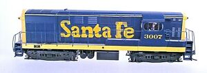 SANTA FE H16-44 LOCOMOTIVE-HO SCALE-DCC-NO SOUND
