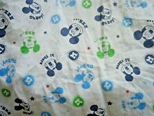 Disney Baby Fitted Crib Sheet Mickey Mouse
