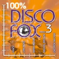 CD 100% Disco Fox Volume 3 von Various Artists