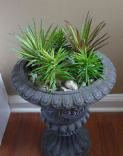 5 Artificial Grass Agave And Mini Pine Tree Succulents Plants Home Garden Decor