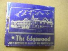 1930's The Edgewood on Routes 9 & 20 East Greenush NY Full Matchbook
